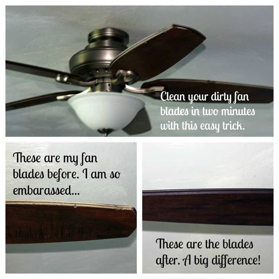 An easy way to clean fan blades in minutes aloadofball Image collections