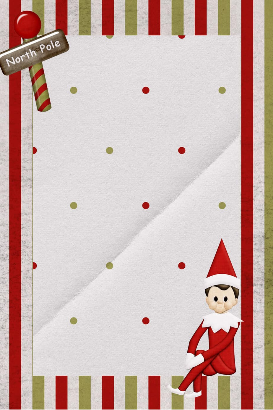 Elf On Shelf Template | Review Ebooks