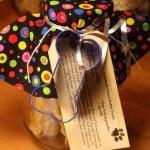 Homemade Dog Treat Gift Jar