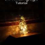 DIY Homemade Twinkle Nightlight