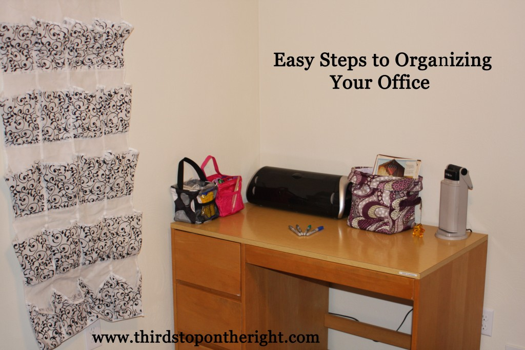 Organizing challenge 1 organizing your office third - Organize your office desk ...