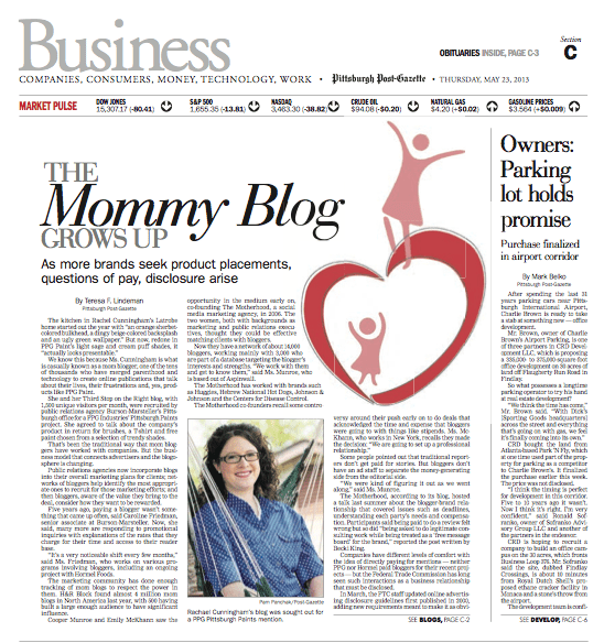 Post Gazette Mommy Blogs Grow Up