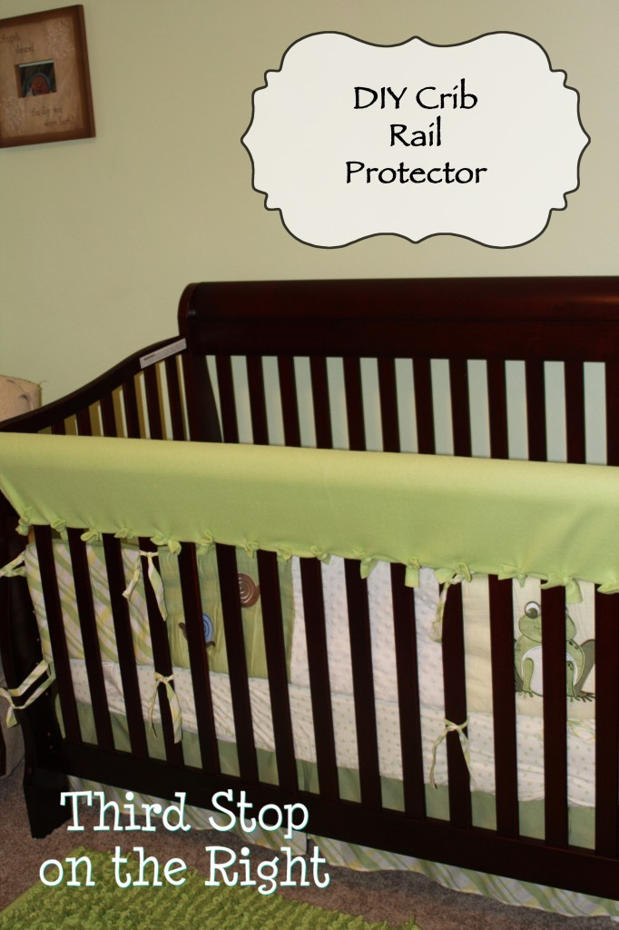 Diy Crib Rail Teething Protector