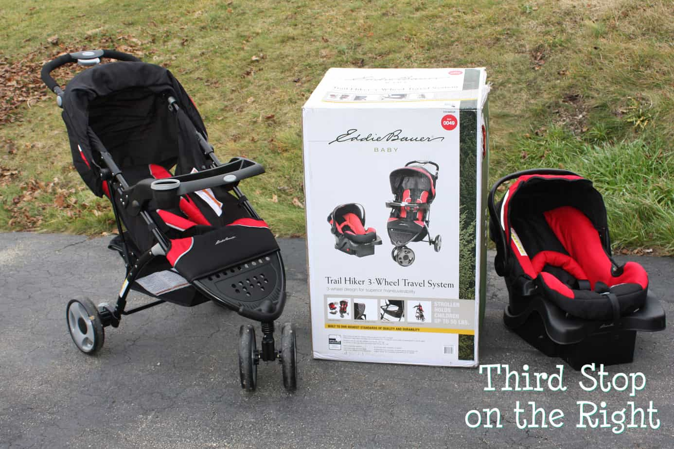 Ed Bauer Trail Hiker 3 Wheel Travel System Review Third Stop on the Right