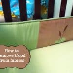 Removing Blood from Fabrics (So easy!)