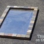 Upcycling an Old Thrift Store Mirror