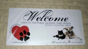 Animal Friends Westmoreland Sign