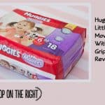 New Double Grip Strips Make Huggies Little Movers Diapers Even Better! #sponsored #MC #MoveableMoments