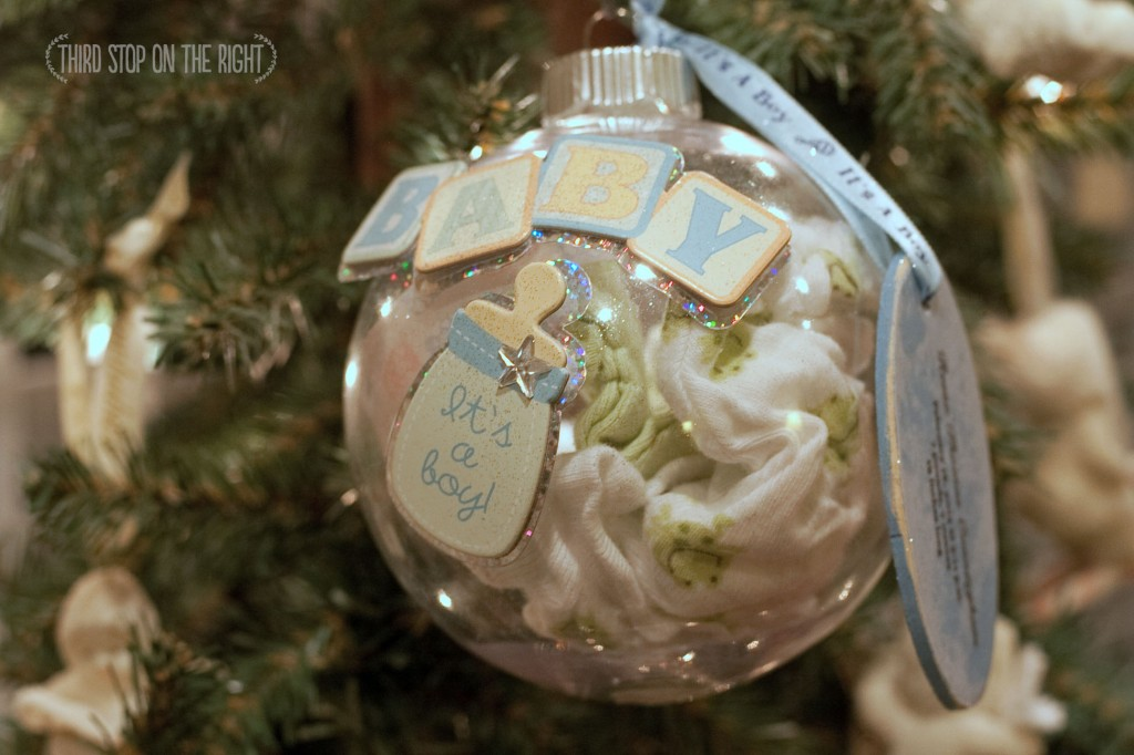 Handmade Holidays: Creating a Baby Keepsake Ornament| Third Stop on ...