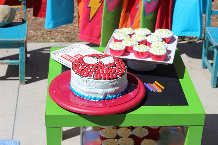 Super Hero Birthday Party Theme