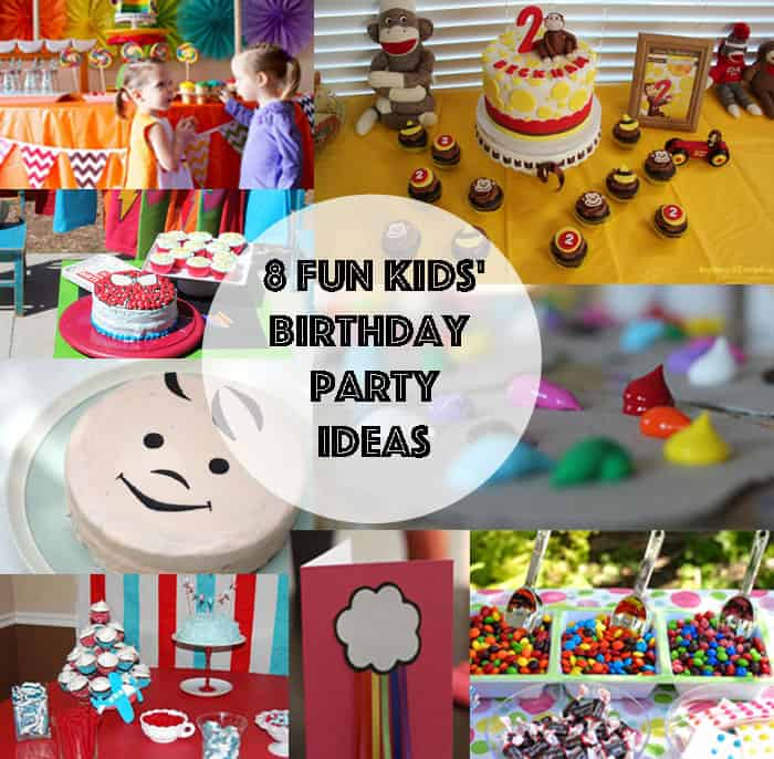 Housewarming Party 8 Kids Birthday Party Ideas