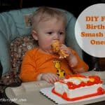 DIY First Birthday Smash Cake Onesie