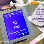 The Two Week Wait: Continuing my #BabyMakingDays Journey with Clearblue® Fertility Monitor