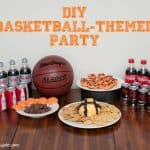 Score a Slam Dunk With Some Great Basketball Party Ideas #EasyBracketParty