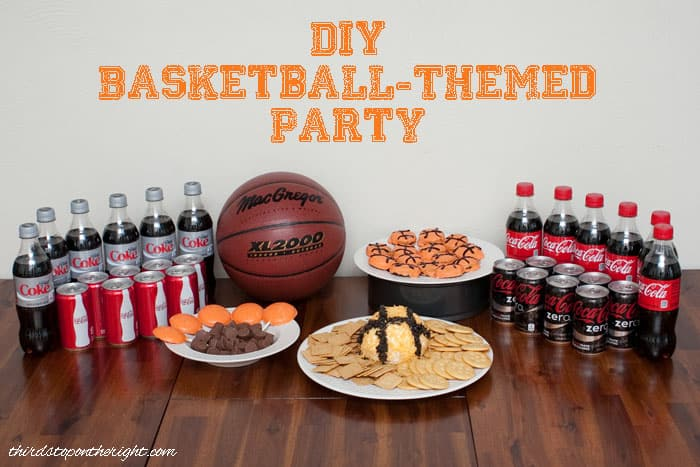 score a slam dunk with some great basketball party ideas