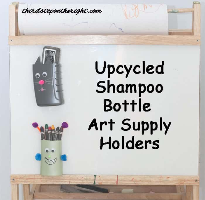 Upcycled Shampoo Bottle