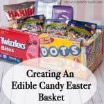Create Cute Edible Candy Easter Baskets for Your Kids