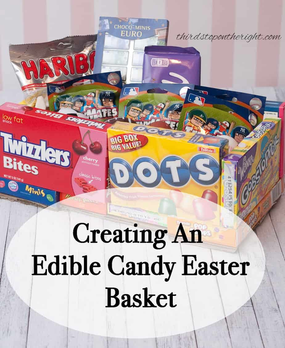 Create cute edible candy easter baskets for your kids negle Images