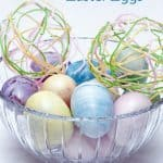 Create Festive Yarn Easter Eggs With Your Kids