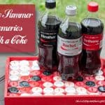 Share Summer Memories With A Coca-Cola & a DIY Bottle Cap Tray