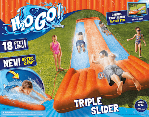 Slide Into Summer With the H2OGO! Kids' Water Slide!