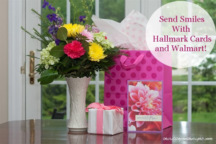 Send Smiles with Hallmark Cards and Walmart!| Third Stop on the Right