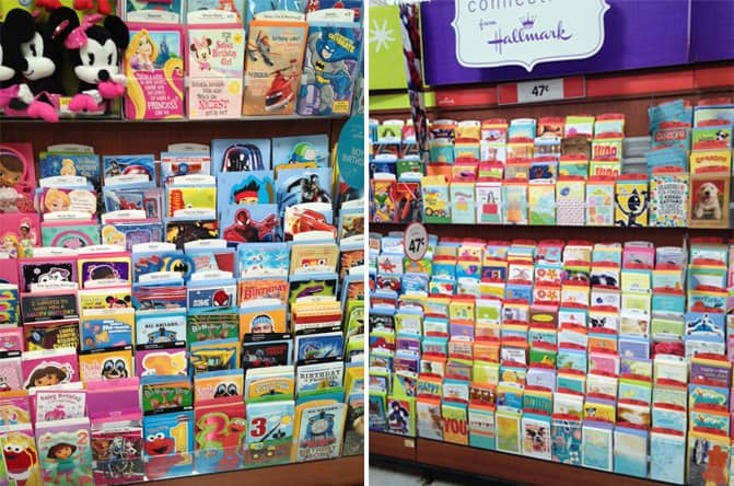 Send smiles with hallmark cards and walmart third stop on the right