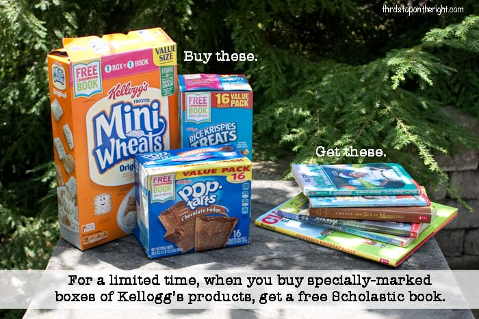 Give the Gift Of Reading With Kellogg's and Earn Free Scholastic Books