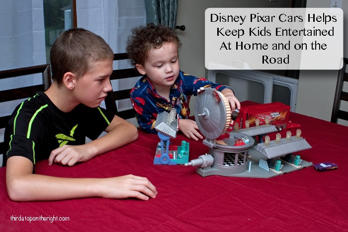 Disney Pixar Cars Helps Keep Kids Entertained At Home and on the Road