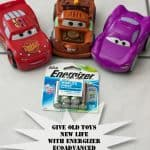 Give Old Toys New Life with Energizer® EcoAdvanced™ Batteries!