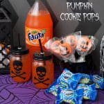 OREO Pumpkin Cookie Pops and Fanta Make a Spooky Halloween