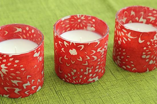 How To Make Candle Luminaries