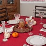 Designing an Elegant, Yet Simple Thanksgiving Tablescape