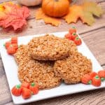 Pumpkin Spice Flavored Rice Krispies Treats
