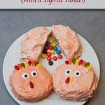 Turkey Sugar Cookie Sandwiches (With a Surprise Inside!)