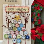 DIY Candy Tin Surprise Inside Advent Calendar