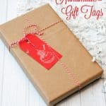 Create Handmade Glittery Gift Tags for Holiday Wrapping