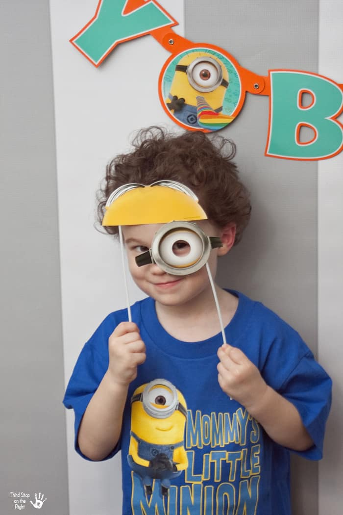 Minion Photo Booth Game