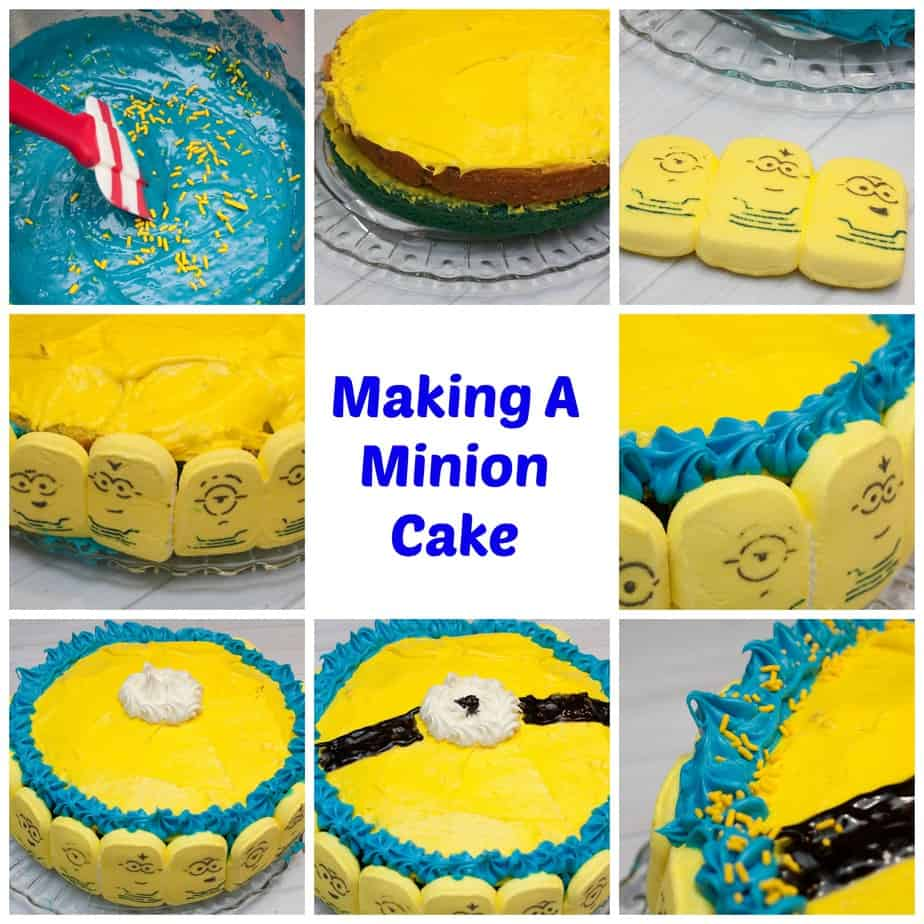MinionCakeCollage