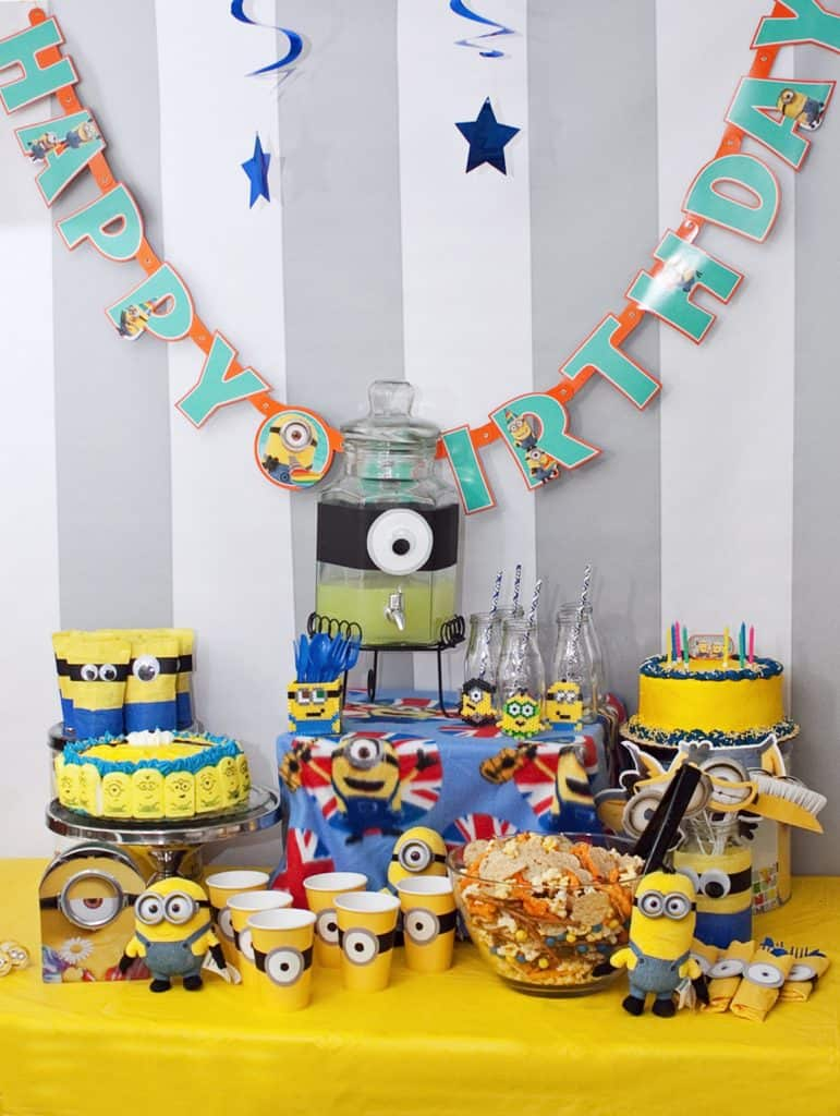 Minion Movie Birthday Party