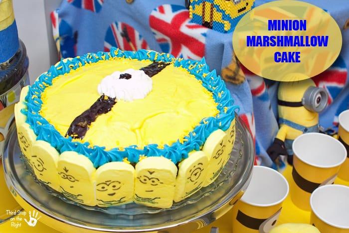 Minion_Marshmallow_Cake