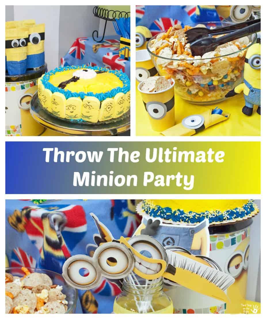 Plan A Minion Birthday Party