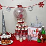 Elf on the Shelf Arrival Party: Our Elf on the Shelf Is Here!