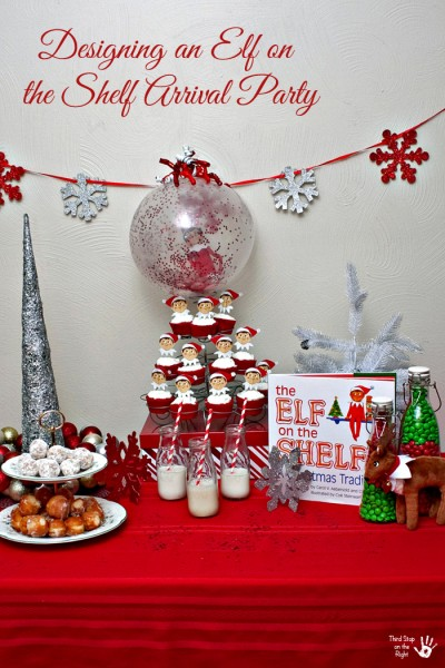 Elf on the Shelf Arrival Party