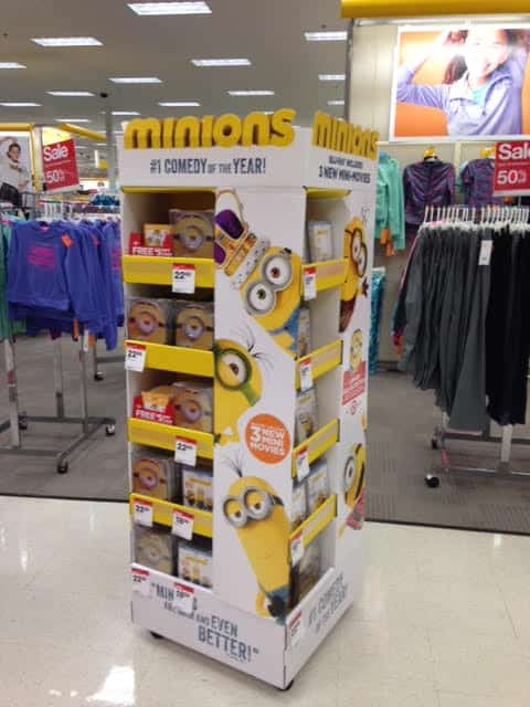 Minion Movie Display