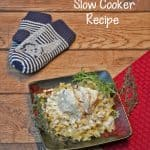 Creamy Roasted Chicken and Herbs Slow Cooker Recipe