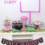 Plan the Perfect Pretty in Pink Football Party