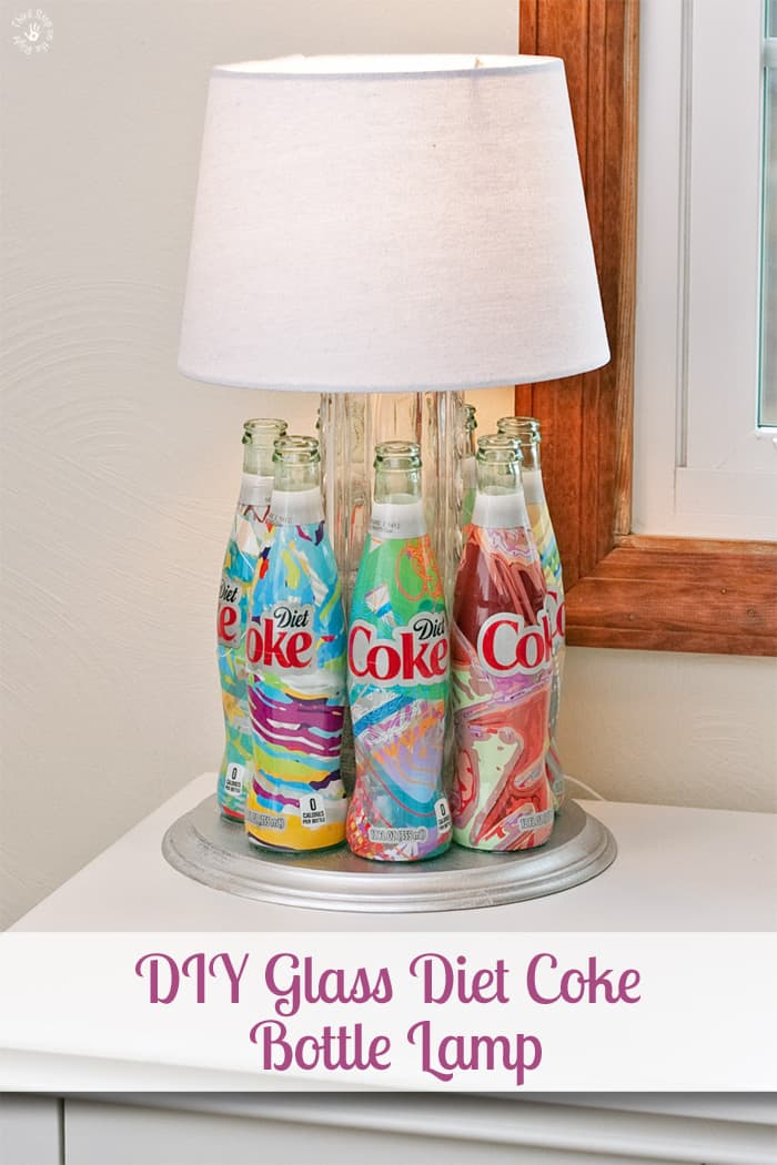 A Lamp Made From Diet Coke Itu0027s Mine Bottles