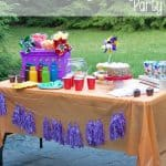 Throw the Ultimate Colorful Backyard Play Date Party!