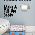 Encourage Potty Training Success! Make a Pull-Ups Caddy